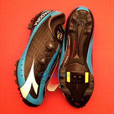 Diadora X-Vortex Pro Mountain bike SPD Shoes Black/Blue EU 46 US 12