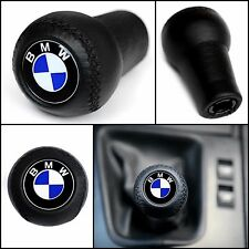 BMW CLASSIC GEAR STICK SHIFT KNOB E60 E90 E92 E91 E46 E39 M3 M5 M6 LEATHER NEW