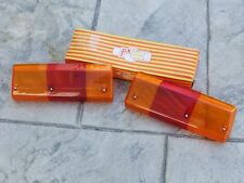 Renault Alpine A310 A 310 V6 S GT-Pack OEM French Red/Amber Taillight Lenses