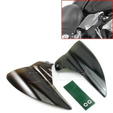 Smoke Saddle Shield Heat Deflector For Harley 2009-2015 Road King Street Glide