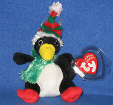 TY TOBOGGAN the PENGUIN JINGLE BEANIE BABY - MINT TAGS