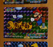 SUPER MARIO WORLD BANPRESTO CARDDASS CARD PRISM CARTE 24 NITENDO JAPAN 1993 **