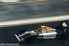 "F1 Driver Formula One Thierry Boutsen Hand Signed Photo Autograph  12x8"" AE"