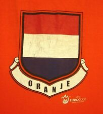 NETHERLANDS National Football Team med T shirt Oranje soccer tee Euro 2008