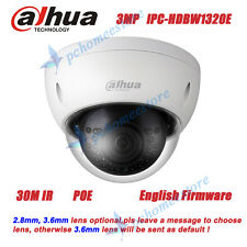 Dahua IPC-HDBW1320E POE 3MP IR Network Mini Dome Camera Replace IPC-HDBW4300E