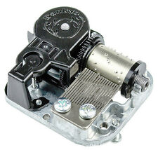 """Play """"Unchained Melody"""" Silver Plated Sankyo Musical Movement for DIY Music Box"""