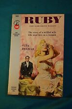 Ruby The Marcaboth Women Vina Delmar Pocket Books 1953 paperback