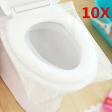 Disposable Paper Toilet Seat Cover' For Camping Travel Sanitary 1 Pack/10pcs
