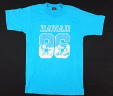 Vtg 1986 Hawaii 86 T-Shirt Large happy shirts tourist beach maui big island