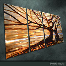 Large Modern Metal Wall Art Original Abstract Indoor Outdoor Decor by Zenart