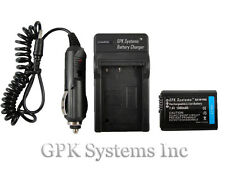 SONY ALPHA NEX-3 NEX-5 NEX-5N NEX-C3 NP-FW50 DIGITAL CAMERA BATTERY + CHARGER