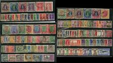 INDIA KG5 + KG6 1911-1948 FINE USED 148 stamps