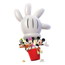 MICKEY MINNIE GOOFY Disney Balloon Ride CARDBOARD CUTOUT Standee Standup Poster