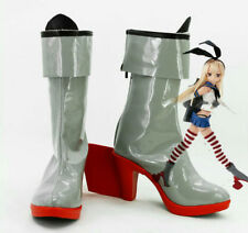 Kantai Collection KanColle Japanese Destroyer Shimakaze Cosplay Boots Shoes UK