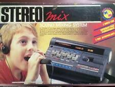Stereo Mix Sound Mixing System Quick Shot Studio 4 Giocadipiù vintage anni 80