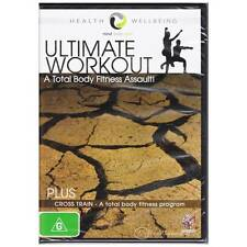 DVD ULTIMATE WORKOUT TOTAL BODY FITNESS ASSAULT + CROSS TRAINING HEALTH R4 [BNS]