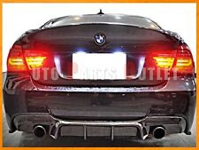 E90 Big Fins Carbon Fiber Diffuser BMW 3-Series 323i 325i 328i 335i Sedan 06-11