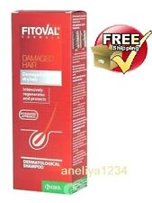 FITOVAL SHAMPOO 200ml DAMAGED WEAK HAIR TREATMENT HAIR LOSS FAST DELIVERY