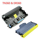 TN360 Laser Toner + DR360 Drum For Brother HL-2140 HL-2170W MFC-7340 MFC-7840W