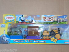Thomas and Friends Take N Play STEPHEN & THE TREASURE 3pack