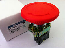 XB2 BS642 Turn to Released 1NC Red Emergency Stop Mushroom Push Button Switch