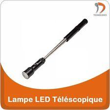 Lampe Torche LED Téléscopique Telescopische LED-lamp Telescopic LED Lamp Black