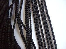 18 Colors Choice 3mm Twisted Cord Trim Rope/Braid x 10 Metres