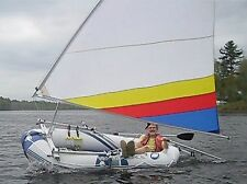 Sail kit for Bestway Hydro-Force Marine Pro Inflatable Raft.  Boat not included.