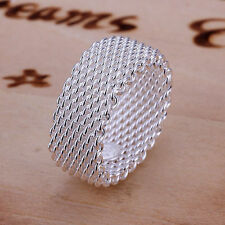 Fashion Plated Classic Web Ring/Thumb Ring Fashion Women Jewelry New