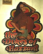 Vintage 70's The Dukes of Hazzard Iron On T-shirt Heat Transfer Daisy Duke TV