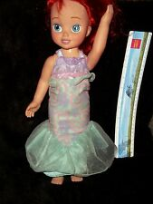 "DISNEY PRINCESS ARIEL THE LITTLE MERMAID 15"" TODDLER DOLL"