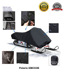 POLARIS RMK 500 600 700 800 900 PREMIUM SNOWMOBILE SLED COVER BLACK