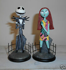 The nightmare before christmas jack et Sally nope figurine (pour les 2)