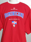 Majestic World Baseball Classic 2009 Dominicana t shirt sz XL David Ortiz NWOT