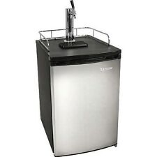 Full Size Stainless Steel Kegerator Fridge, Edgestar Draft Beer Keg Refrigerator
