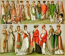 COMPLETE HISTORY OF COSTUME ON DVD - LE COSTUME HISTORIQUE - DRESS, FASHION, ART