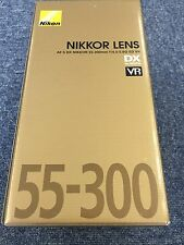 New Free Shipping Nikon Zoom Lens AF-S DX NIKKOR 55-300mm F4.5-5.6 G ED VR Japan