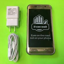 New Samsung Galaxy S7 active SM-G891 32GB - Sandy Gold (AT&T) Factory Unlocked