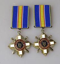 Original Orden Ukraine Medaille für den Mut Ukraine 2 St.