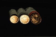 ESTONIE 2011 : série 3 pièces 1,2 et 5 euro cent de rouleaux