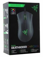 New & Sealed Razer DeathAdder Chroma - Multi-Color RGB Ergonomic Gaming Mouse
