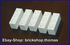 Lego 5 x  Bausteine Steine weiß - 1 x 3 - Basic Bricks white - 3622 - NEU / NEW