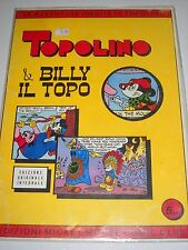-TOPOLINO & BILLY IL TOPO Edizione Mickey Mouse Comic Club RARO!-