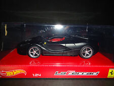 Hot Wheels Ferrari LaFerrari 2013 Matt Black 1/24