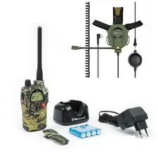 TALKIE WALKIE MIDLAND G9 PLUS CAMOUFLAGE 30 KM  + CASQUE BOW  PACK SOFTAIR