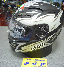 CASCO AGV STEALTH CATALYST SHADOW BLACK XL FULL FACE HELMET HELM CASQUE