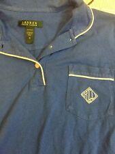 Ralph Lauren Night Gown Sleep Shirt Sz M Pocket Buttons Vintage