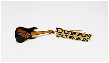 Duran Duran Lot Of 2 80's Pins Pinbacks Mini Guitar & Logo