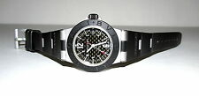 BULGARI DIAGANO AL29TA LADIES ALUMINUM RUBBER CARBON FIBER QUARTZ WATCH