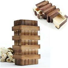Magic Chinese Puzzle Box Wooden Secret Compartment Intelligence Brain Xmas Gift